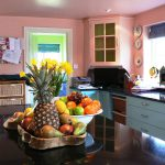 Bold colours for a kitchen restyle